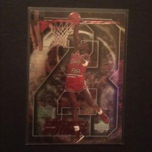 Michael Jordan Collectible Trading Card